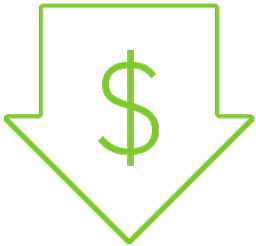 Competitive pricing  Icon